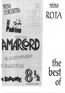 nino rota sheet music pdf