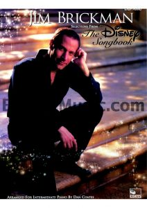 Disney sheet music jim brickman