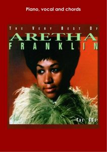 aretha franklin sheet music