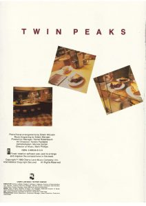 twin peaks sheet music