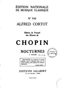 chopin sheet music pdf