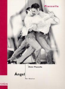 sheet music pdf Milonga del Angel Piazzolla
