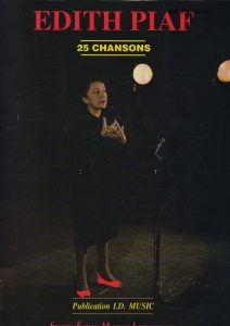 edith piaf sheet music partition