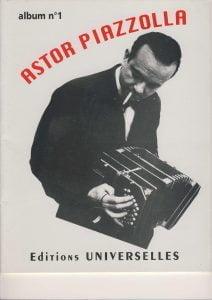 piazzolla sheet music