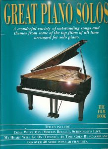 Great Piano Solos - The Movie Book