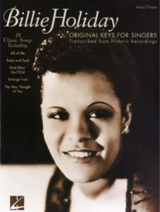 billie holiday free sheet music pdf