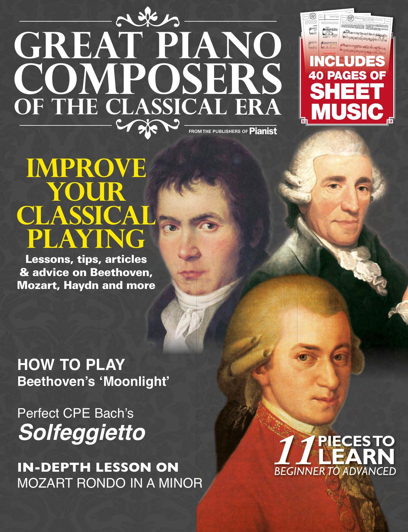sheet music pdf Masterclass nº3 Lang Lang