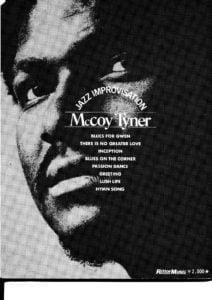 mccoy tyner sheet music pdf