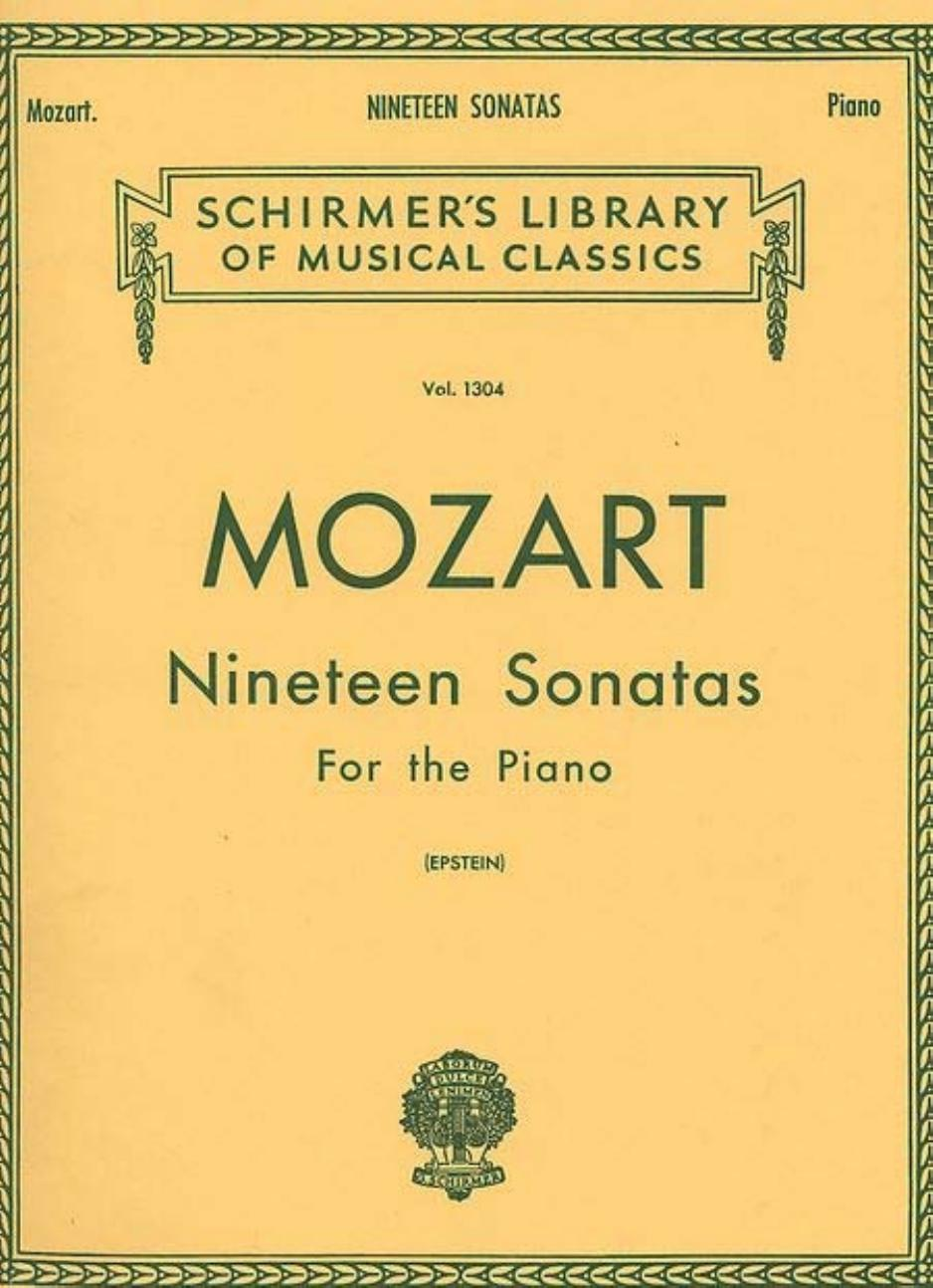 Mozart Piano Sonata sheet music pdf