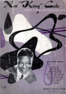 nat king cole free sheet music & scores pdf