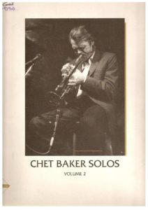 Chet Baker and Bill Evans 'tis Autumn free sheet music & scores pdf