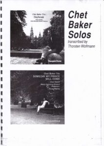 chet baker free sheet music & scores pdf