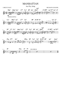 manhattan sheet music download partitura partition spartiti