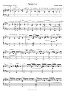 sheet music download partitura partition spartiti