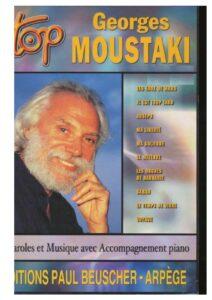 moustaki sheet music score download partitura partition spartiti