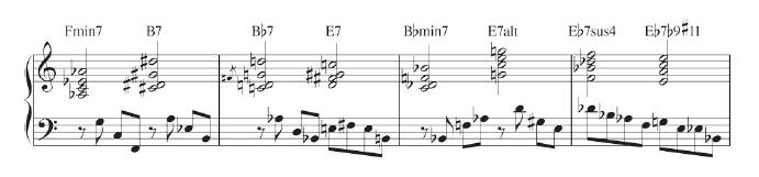 play like bill evans sheet music