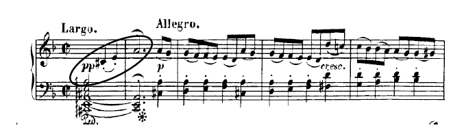 Beethoven sheet music